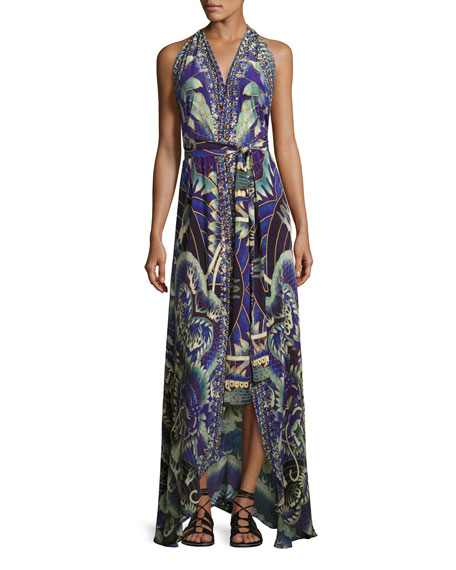 Camilla Sleeveless Belted Wrap Dress, What's Your Poison?