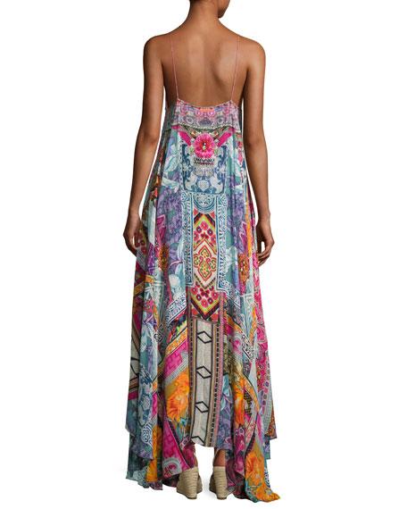 Embellished Crepe Full Maxi Dress, Sunday Best