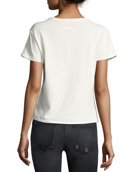 The Perfect Pocket T-Shirt, Ecru