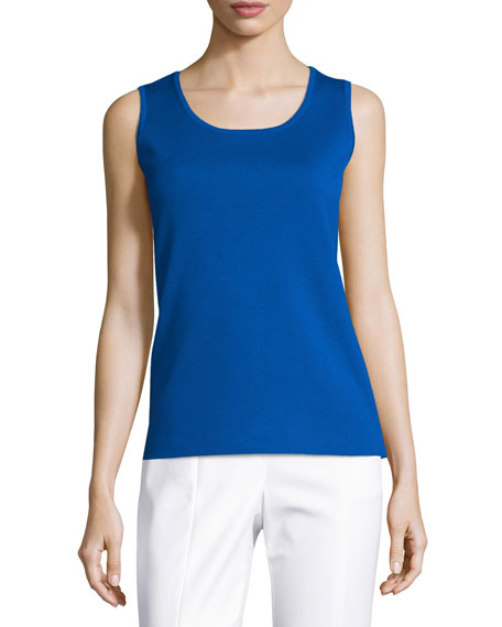 Milano Knit Contour Shell, Blue
