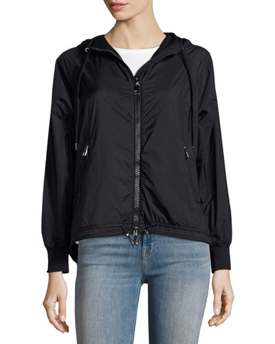 Orchis Packable Rain Jacket, Black