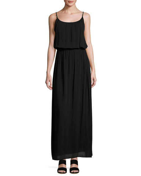 Heidi Klein Bridgehampton Coverup Maxi Dress, Black