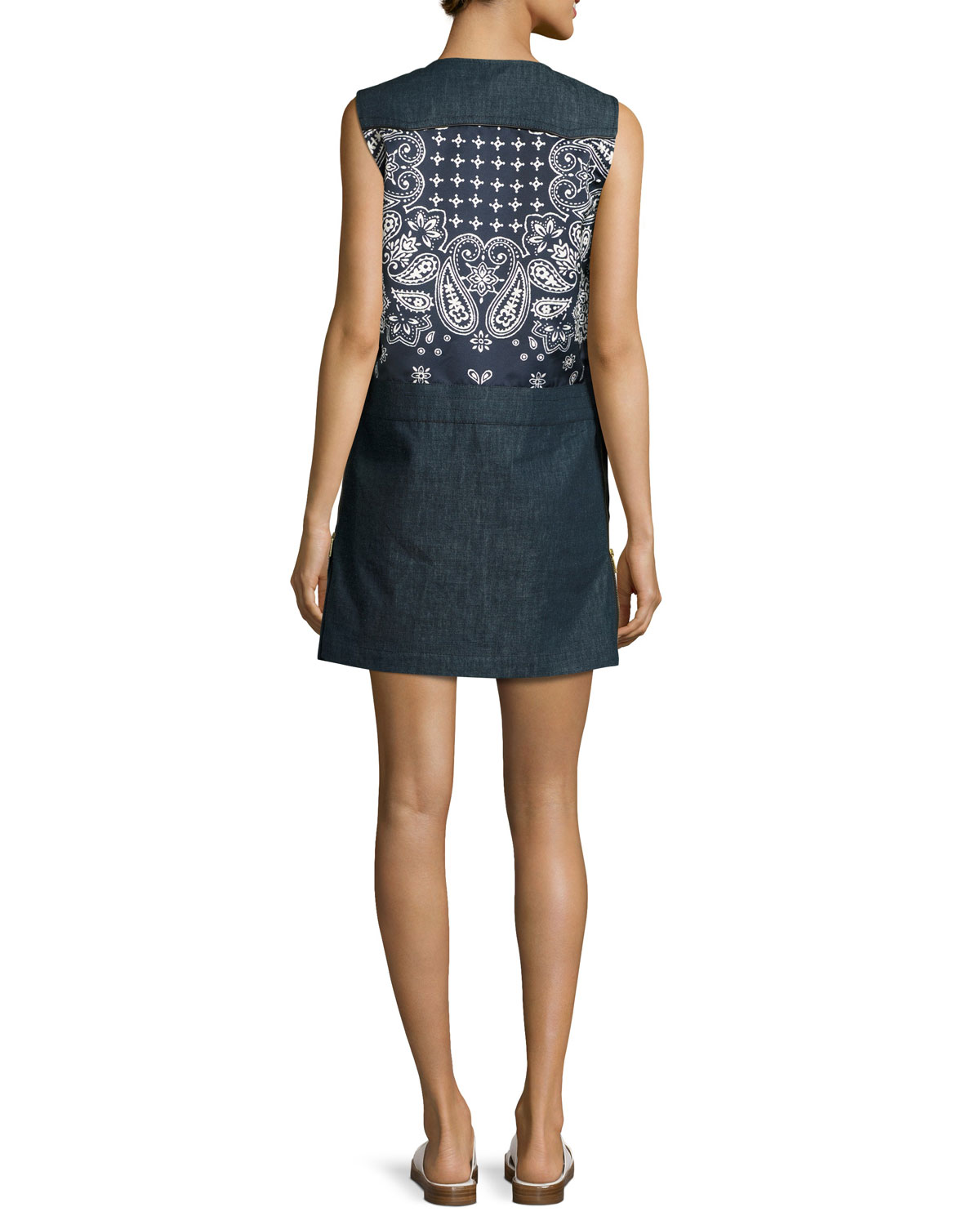Sleeveless Shift Dress Moncler 2MIJuZWJ5