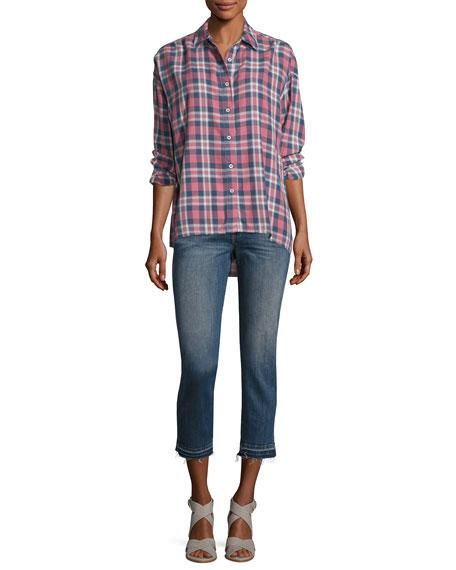 The Fellow Cropped Denim Jeans, Indigo