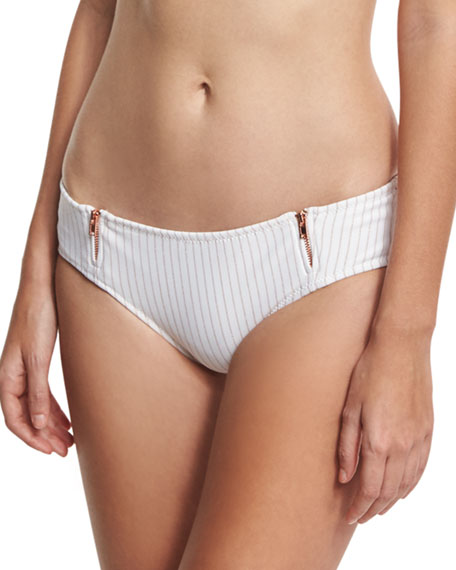 Ale by Alessandra Spring Training Zipper Cheeky Swim