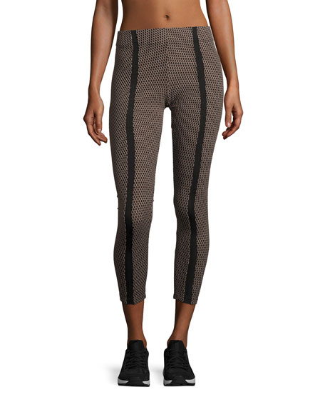 Koral Activewear Power High-Rise Honeycomb Leggings, Multicolor