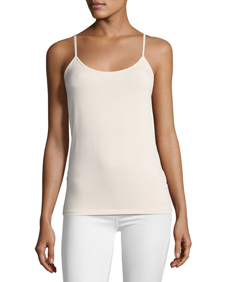 Majestic Paris for Neiman Marcus Soft-Touch Cami, Light