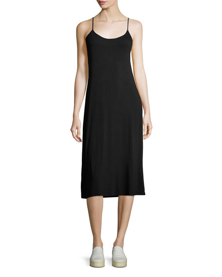Majestic Paris for Neiman Marcus Soft-Touch Cami Dress,