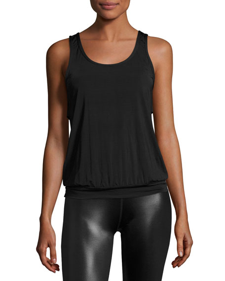Beyond Yoga Sleek Stripe Breezy Sports Tank Top,