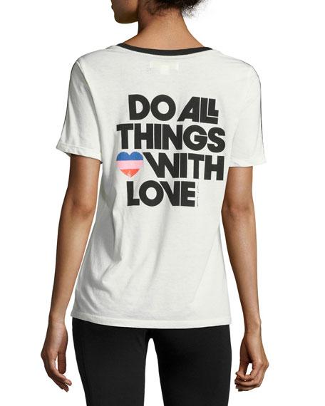 All Things Love Soccer T-Shirt, White