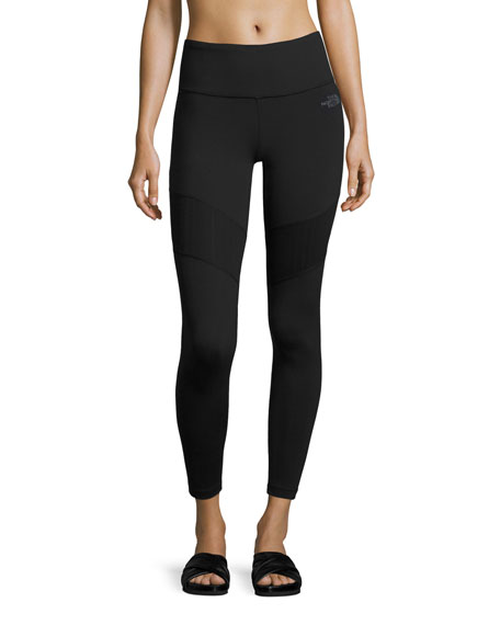 The North Face Motivation Mesh Performance Leggings, Black