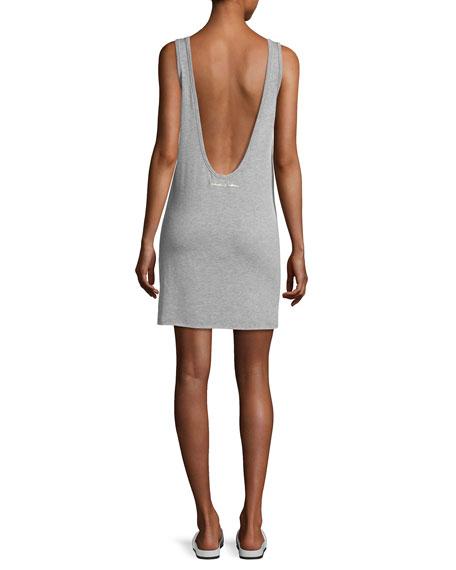 Mini Heart Oahu Dress, Gray