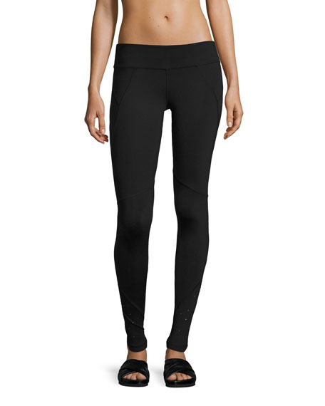 Hero Swarovski® Performance Leggings, Black