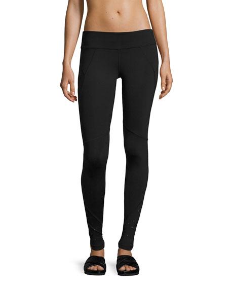 Hero Swarovski® Performance Leggings, Black