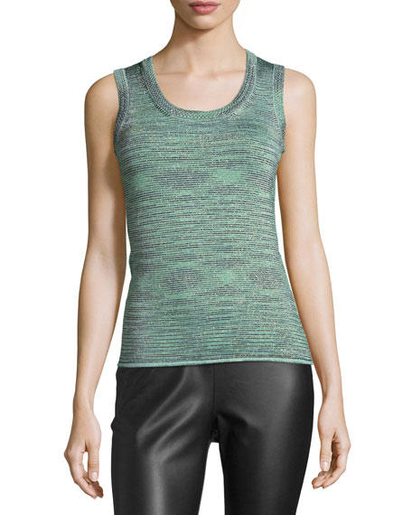 Space-Dyed Lurex® Tank