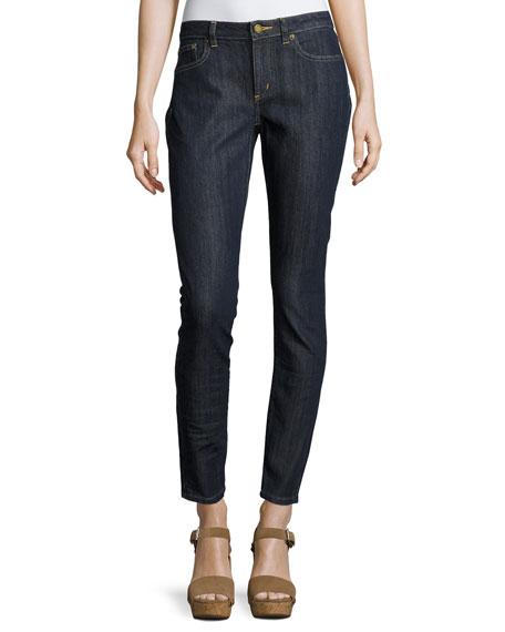 MICHAEL Michael Kors Selma Skinny Ankle Jeans, Indigo