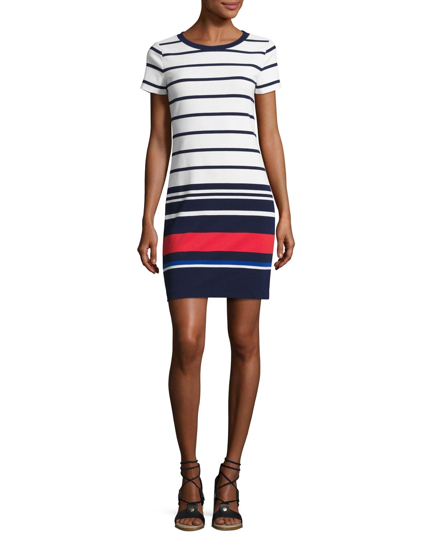 1a14cf620cfceb MICHAEL Michael Kors Striped T-Shirt Dress