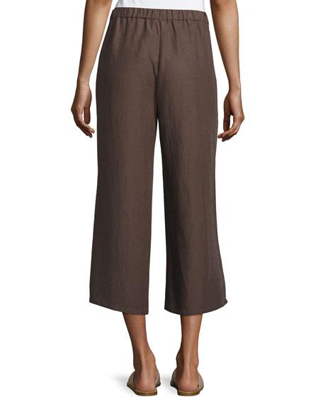 Drapey Cropped Pants, Cobblestone