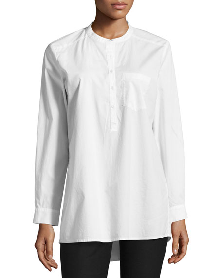 Eileen Fisher Organic Stretch Easy Shirt and Matching