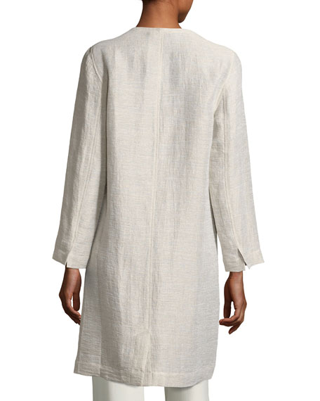Organic Linen/Cotton Topper Jacket