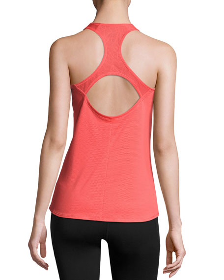 Runagade Mesh Tank Top, Cayenne Red