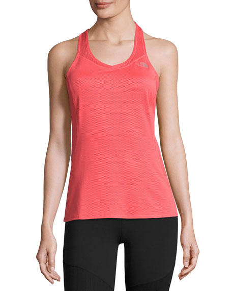 The North Face Runagade Mesh Tank Top, Cayenne
