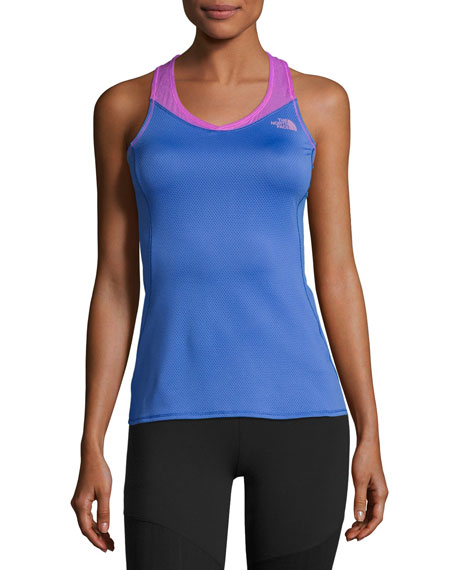 The North Face Runagade Mesh Tank Top, Blue/Purple