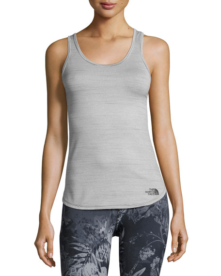 The North Face Motivation Striped Tank, TNF Black