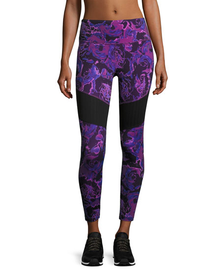 The North Face Motivation Mesh Performance Leggings, Wood
