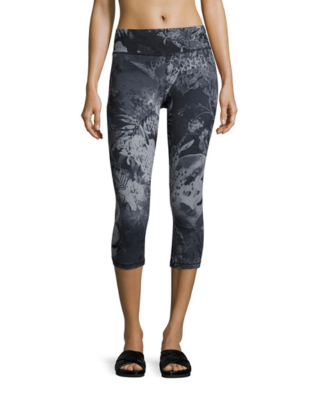 The North Face Motivation Printed Crop Sport Leggings,
