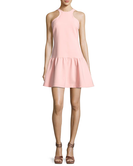 Likely Leila Sleeveless Drop-Waist Short Dress, Pink