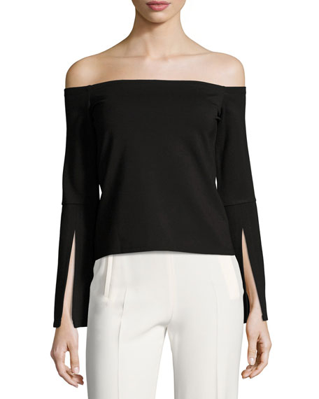 Alexis Iggy Off-the-Shoulder Knit Top