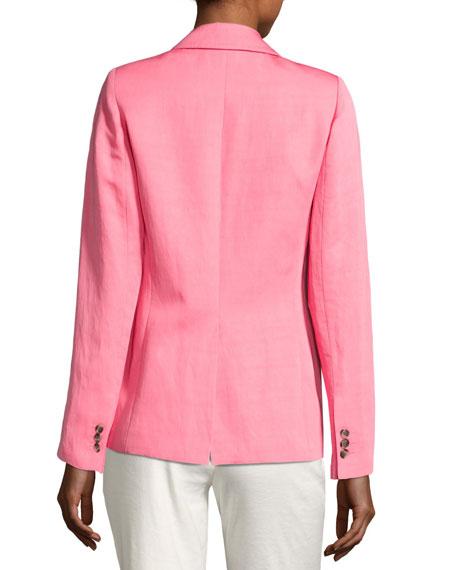 Boy Blazer w/ Two-Button Front, Pink