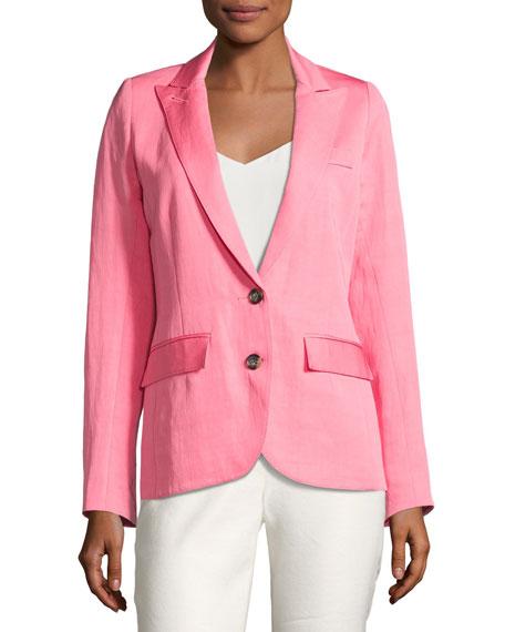 Smythe Boy Blazer w/ Two-Button Front, Pink