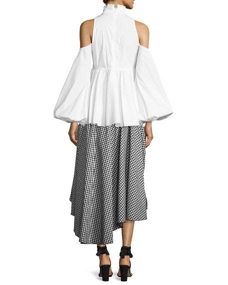 Black Skirt Cotton 85