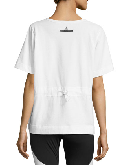Adidas by stella mccartney climalite animal print workout for Design your own workout shirt