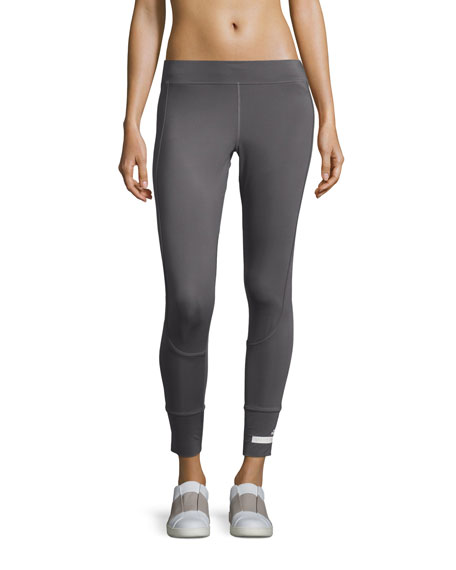 The Performance 7/8-Length Compression Tights, Granite
