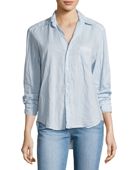 Frank & Eileen Eileen Long-Sleeve Button-Front Shirt, Light