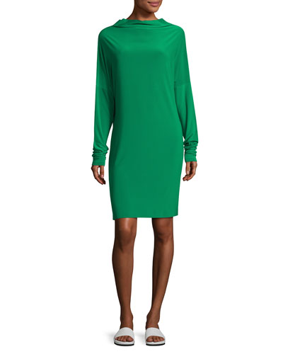 All-in-One Jersey Dress, Green