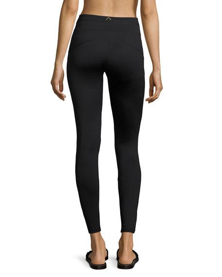 Power Bicknell Full-Length Leggings, Black