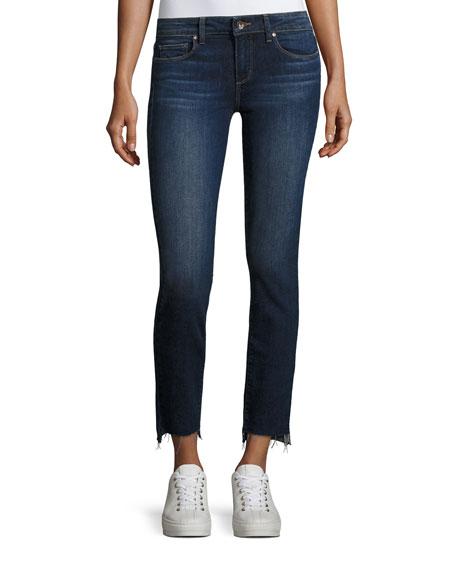 Paige Skyline Ankle Peg Skinny Leg Jeans, Indigo