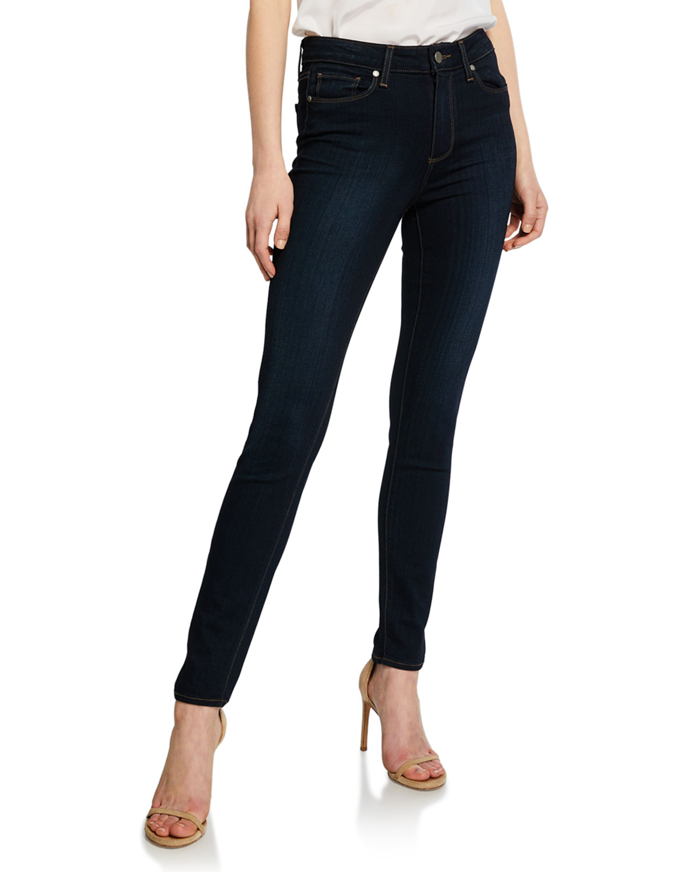 Paigehoxton Mona Ultra Skinny Jeans Dark Blue