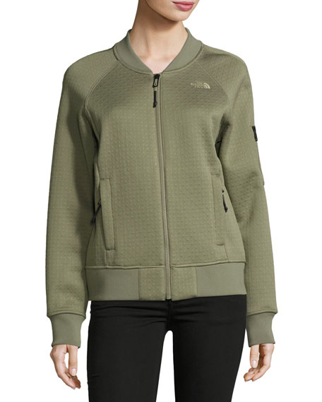 The North Face Kelana Embossed Fleece Bomber Jacket,