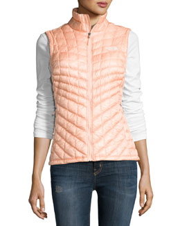 ThermoBall™ All-Weather Quilted Vest, Tropical Peach