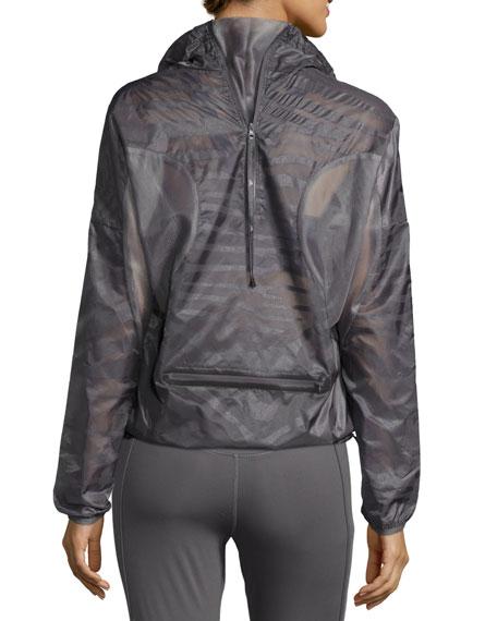 Cycling Adizero Pullover Jacket, Granite