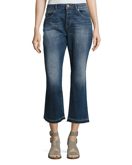 DL1961 Premium Denim Patti High-Rise Straight Denim Jeans,