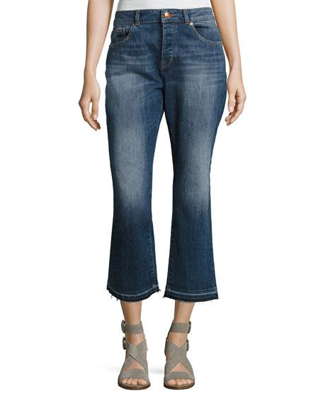 DL1961 Premium Denim Patti High-Rise Straight Denim Jeans,
