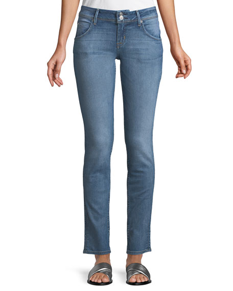 Hudson Collin Mid-Rise Skinny Jeans, Indigo