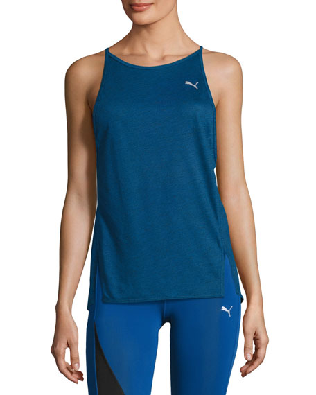Puma Dancer Drapey Performance Tank Top, Blue