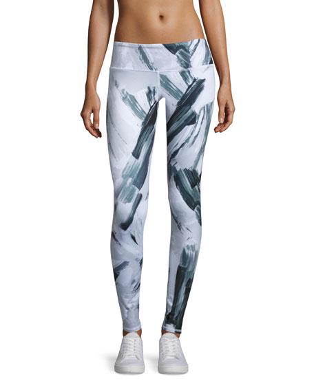 Alo Yoga Airbrush Printed Sport Leggings